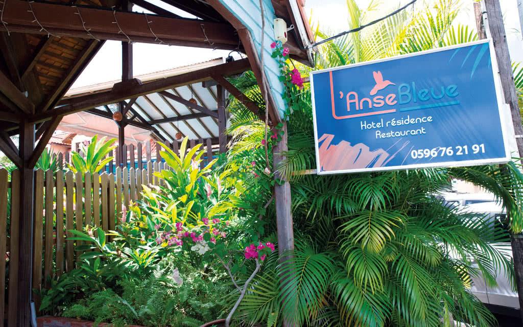 Martinique exterieur l'anse bleue Hôtel L' Anse Bleue
