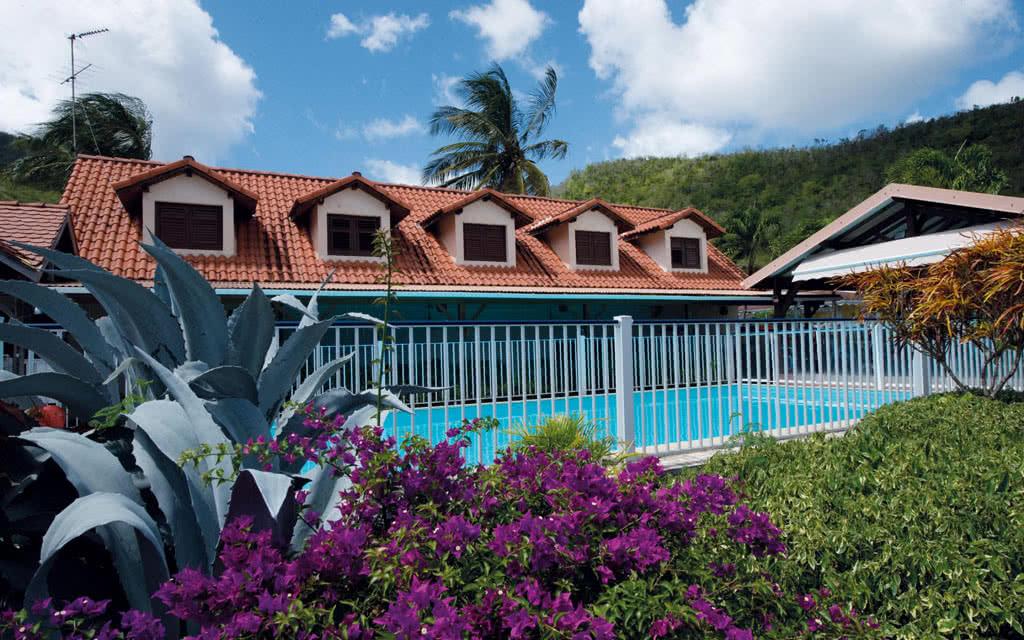 Martinique piscine anse bleue hotel Hôtel L' Anse Bleue
