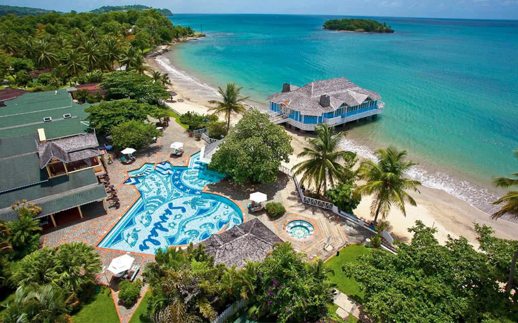 Hôtel Sandals Halcyon Beach ****