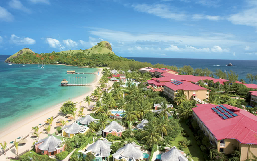 Hôtel sandals grande st lucian beach resort et spa 5*