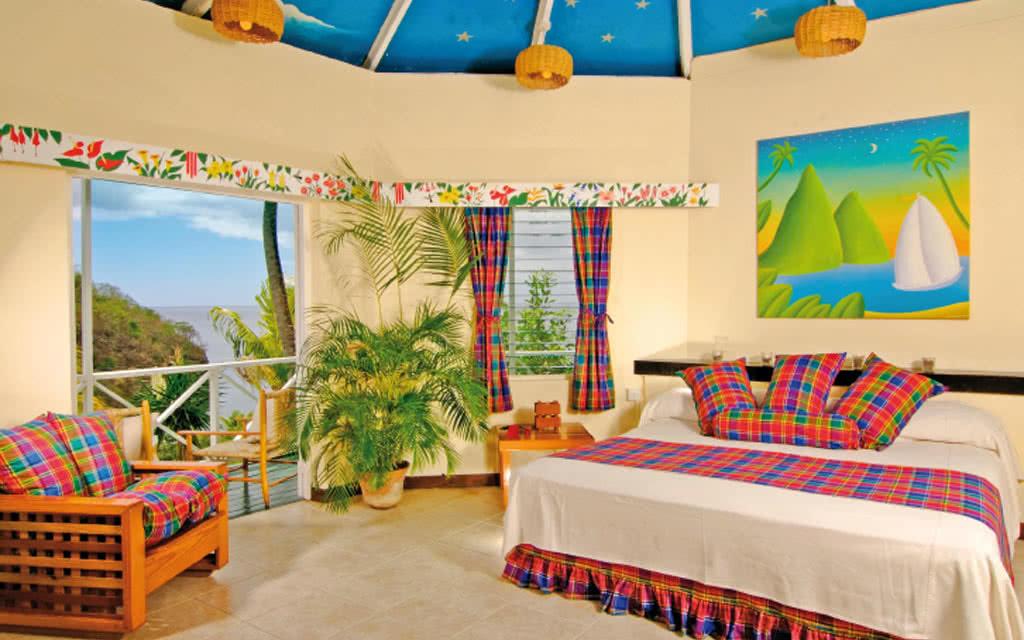 Sainte Lucie - Hôtel Anse Chastanet Resort 4*
