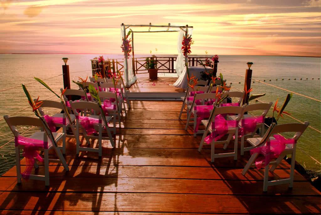 Mariage civil à Sainte Lucie