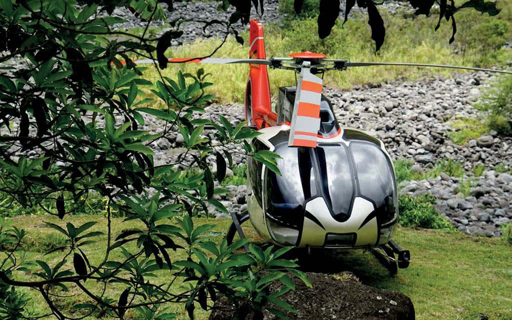 Survol en Hélicoptère : Mafate