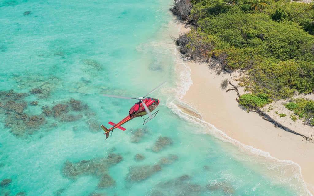 Survol en Helicoptere à Saint Martin : Luxury