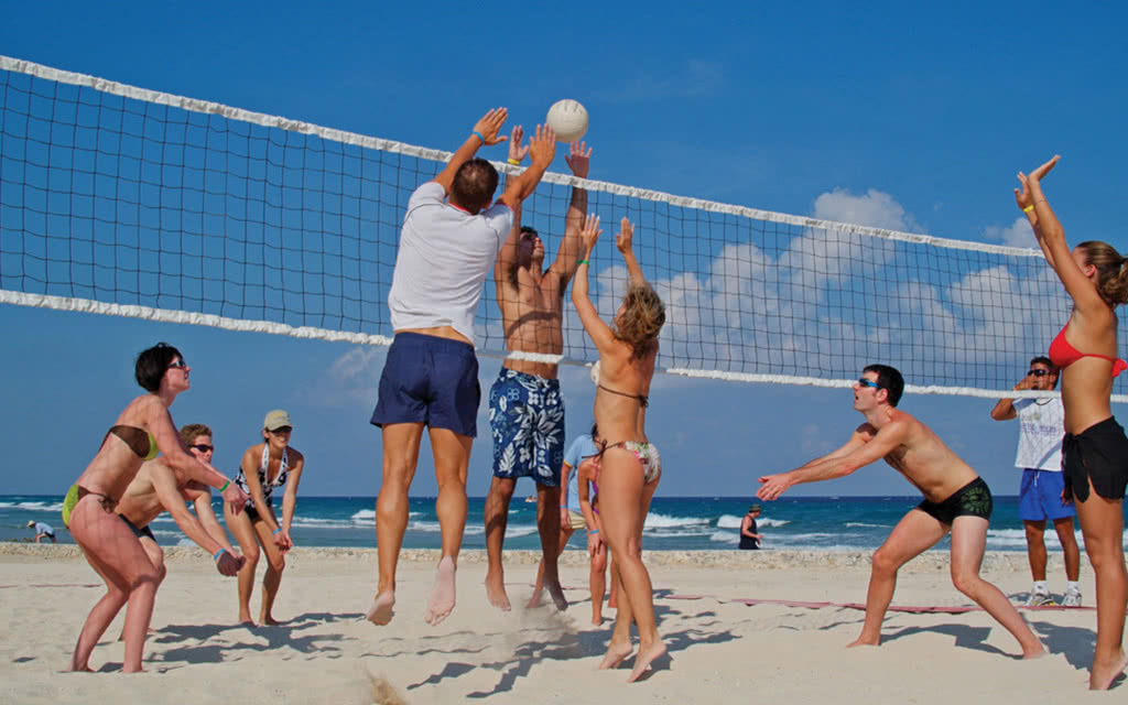 plage volley caraibes