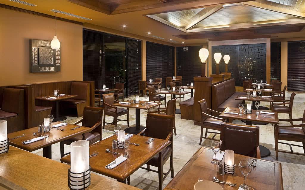 restaurant american grill hotel melia caribe
