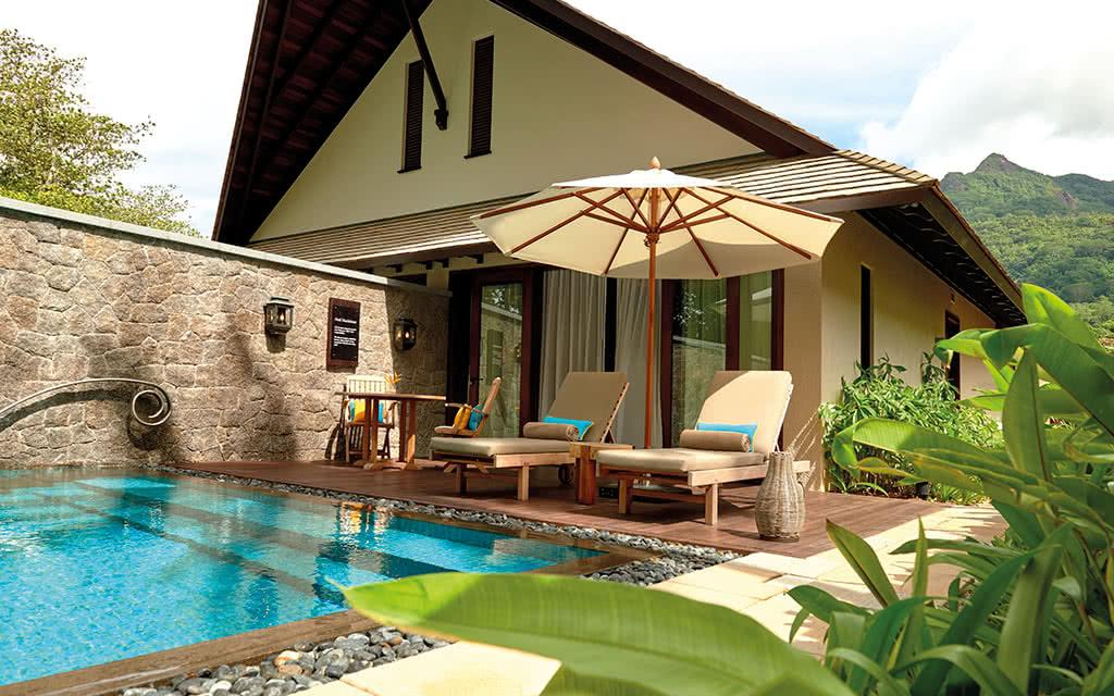 16 hresort beach villa exterior