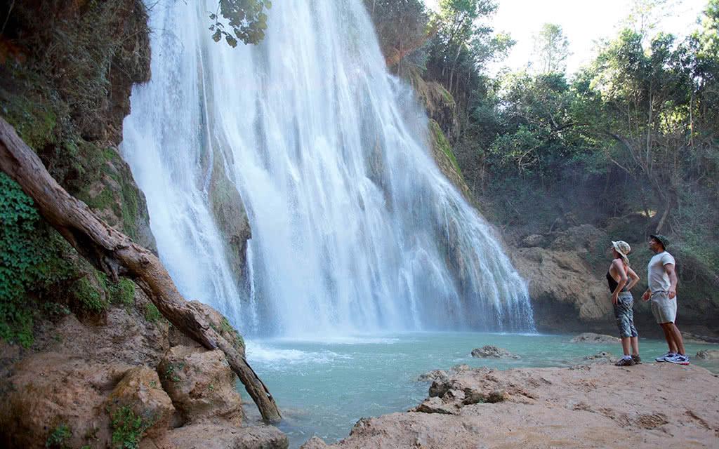 Cascade El Limon - Départ de La Samana