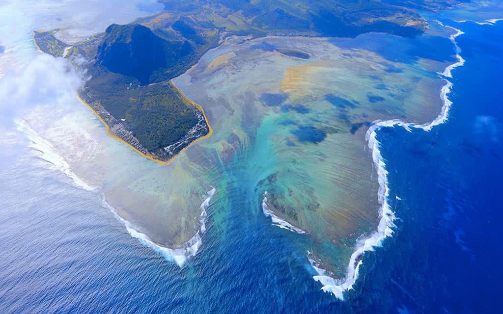 Survol en Hélicoptère : Le Must - île Maurice