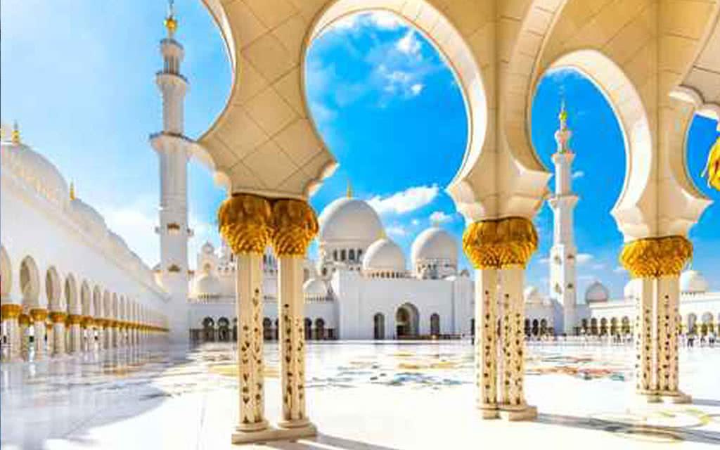 Excursion Découverte Duo Mosquée Sheikh & Louvre Abu Dhabi - Départ d'Abu Dhabi