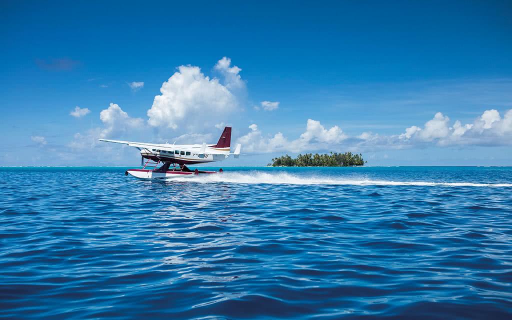 Survol de Bora Bora et Tupai - 30 min