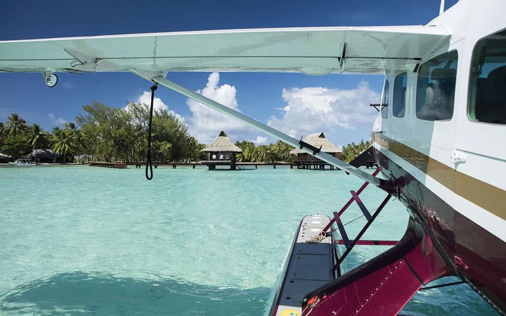Transfert Hydravion Bora-Tahaa ou Tahaa-Bora privé