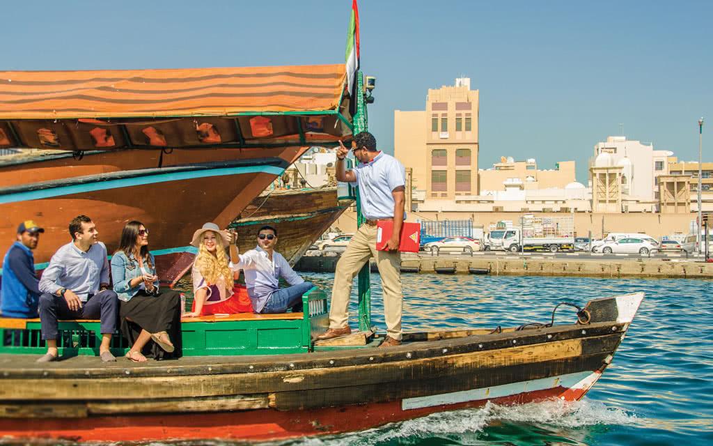 Dubai - Visite de la vielle ville et des Souks