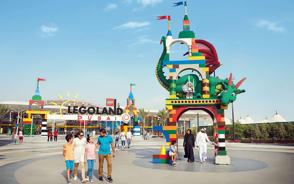Abu Dhabi - Legoland et Legoland Water Park