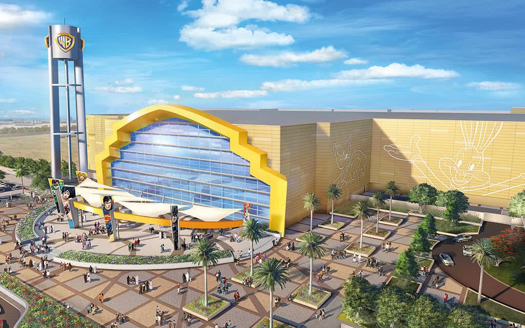 Abu Dhabi - Parc Warner Bros. Studio