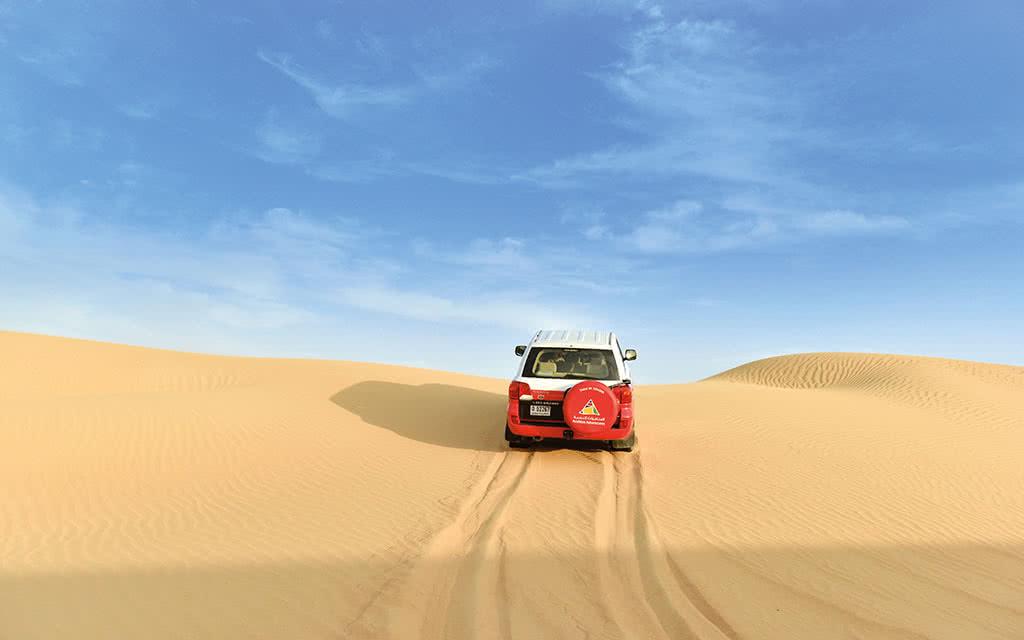 Dubai - Winter Morning Dune Drive